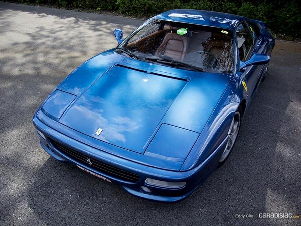 Photos du jour : Ferrari 355 Berlinetta (Spa Classic)