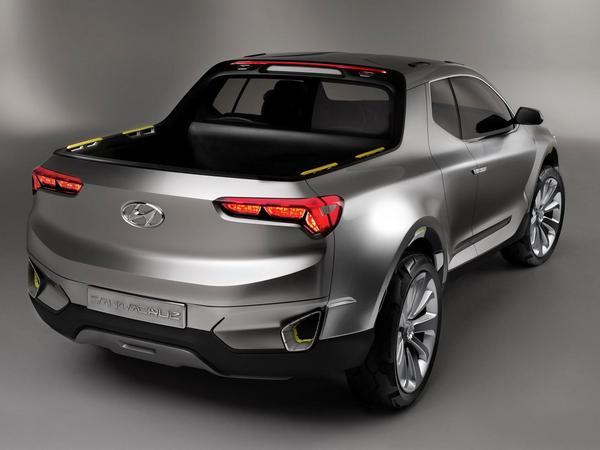Futur Hyundai Santa Cruz : cinq places et une plateforme de SUV Tucson sont au programme