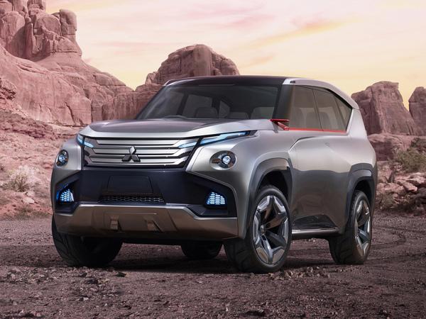 Le futur Mitsubishi Pajero bénéficiera des systèmes CarPlay et Android Auto