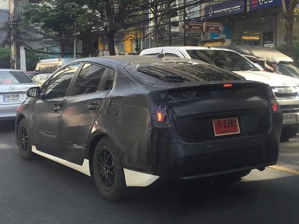La prochaine Toyota Prius se cache en Thaïlande