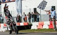 Supermotard, championnat de France 2014, round 5: Chareyre... d'un rien
