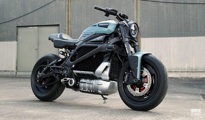 La Harley-Davidson Livewire enfin customisée!
