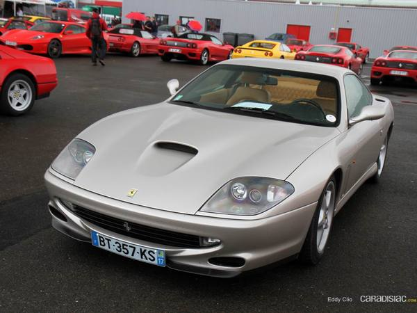 Photos du jour : Ferrari 550 Maranello (Sport & Collection)