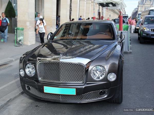 Photos du jour : Bentley Mulsanne