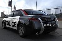 Carbon Motors E7 : la voiture de Police du futur !