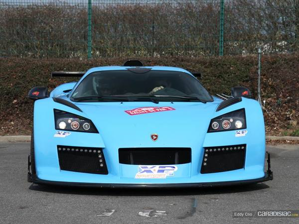 Photos du jour : Gumpert Apollo S (Rallye de Paris)