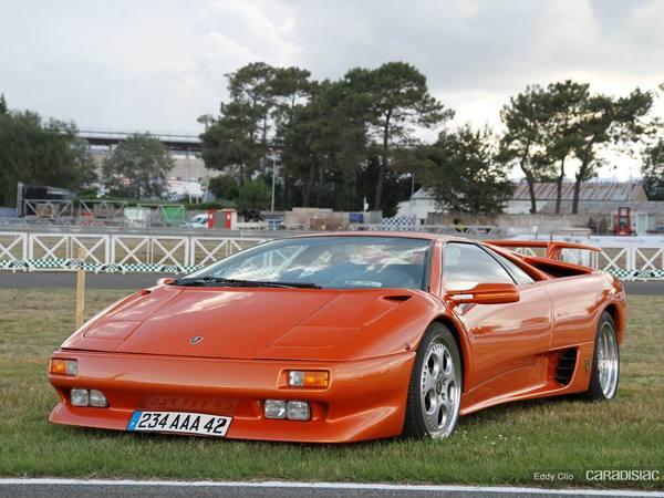 Photos du jour : Lamborghini Diablo ( Le Mans Classic)