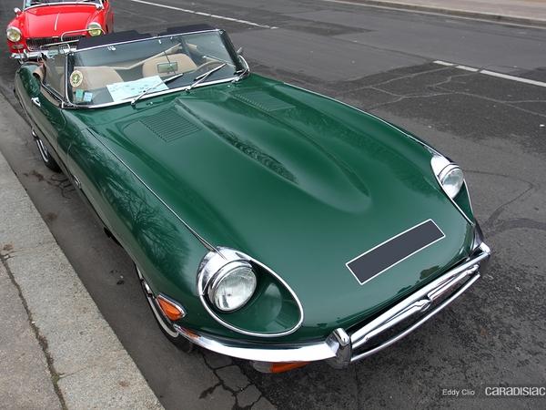 Photos du jour : Jaguar Type E Cabriolet (Traversée de Paris)