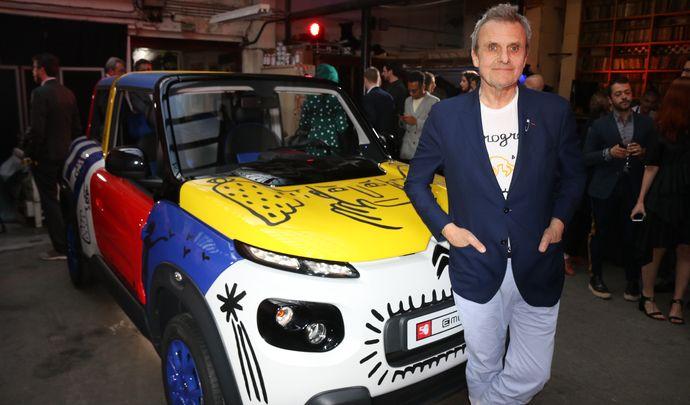Citroën e-Méhari Jean-Charles de Castelbajac: une Art Car pour un anniversaire…
