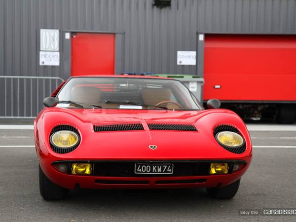 Photos du jour : lamborghini Miura (Sport & Collection)