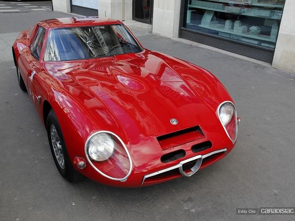 Photos du jour : Alfa Romeo TZ2