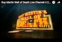 Guy Martin: nouveau record de vitesse sur le Mur de la Mort (vidéo)