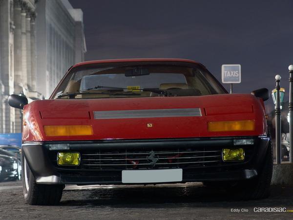 Photos du jour : Ferrari 512 BBi