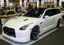 Nissan GT-R break, pour faire les (ou la) courses
