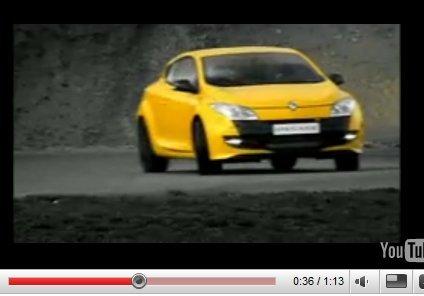 Vidéo : la nouvelle Renault Mégane RS joue du cable