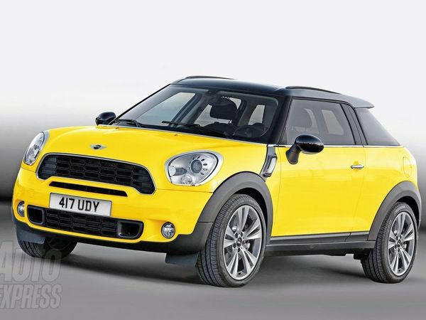 Mini Canyon : un Countryman 3 portes pour concurrencer le Range Rover Evoque