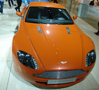 "En Direct de Francfort: les Aston Martin ""Track Tribute"""