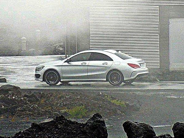Surprise : voici la Mercedes CLA