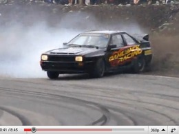 Clash production : le drift brutal du Gatebil 2010