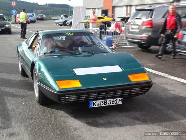 Photos du jour : Ferrari 365 GT4 BB (Modena Track Days)
