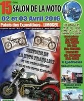 Ce W.E.: salon de la moto à Limoges: Laconi, Redman, Brough Superior, Midual, et plus de 250 motos anciennes françaises...