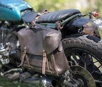 Bleu de Chauffe rencontre Blitz Motorcycles: sacoches Eclair