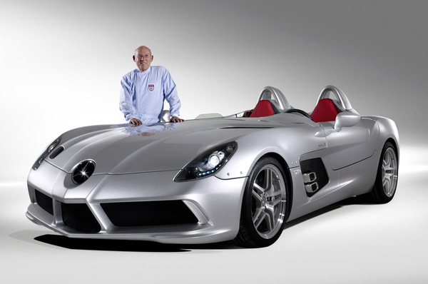Faites le plein de photos de la Mercedes McLaren SLR Stirling Moss