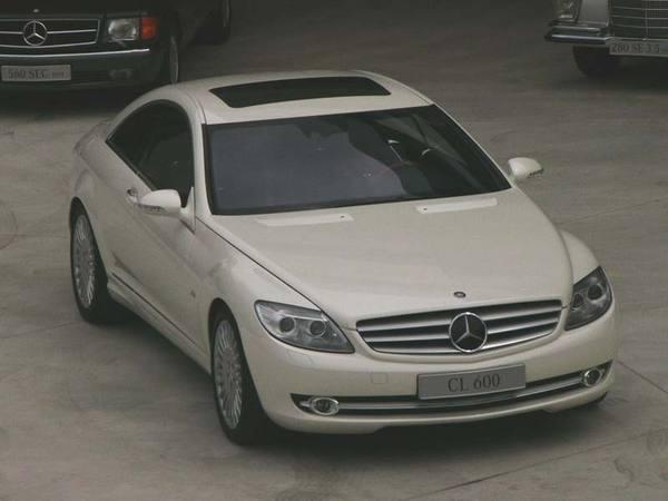 Mercedes CL : Coupé de Luxe