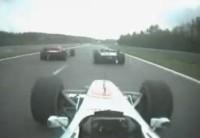 La leçon de pilotage: Hakkinen au GP de Spa en 2000 !