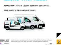 Renault félicite les handballeurs français, champions d'Europe