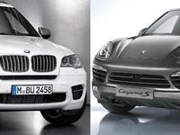 Match du Mondial : Porsche Cayenne S Diesel ou BMW X5 M50d ?