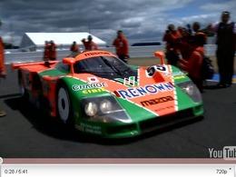 Mazda 787B : le film de son retour au Mans avec Johnny Herbert aux commandes