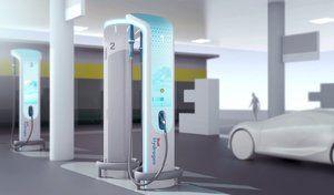 BMW et Shell imaginent la station de recharge à hydrogène de demain