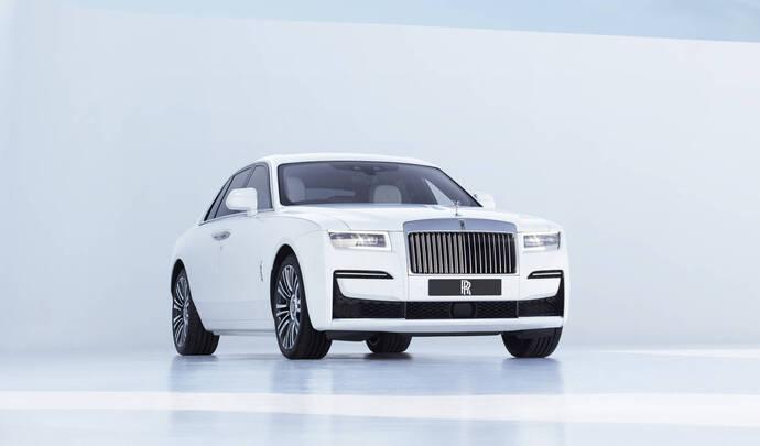 Silent Shadow, la première Rolls-Royce électrique