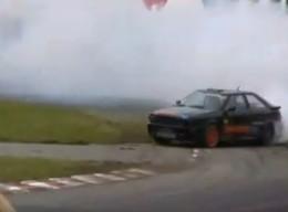 Vidéos : Brutale, très brutale Audi S2 ALM Racing