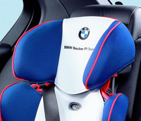 Siège enfant BMW Sauber: la F1 des sièges bébé ?