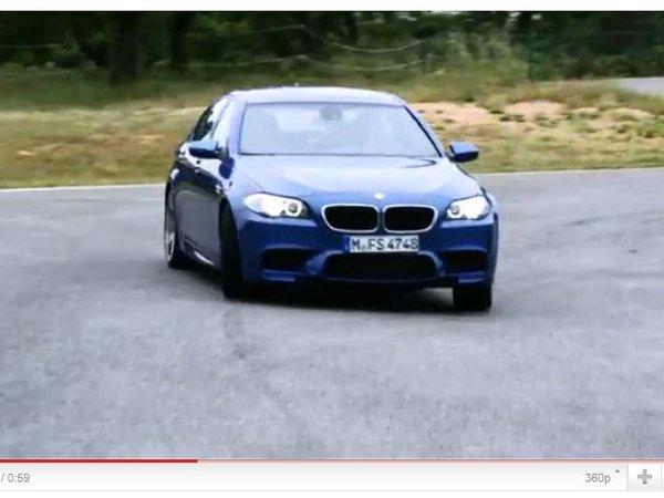 BMW M5 F10 : première vidéo et encore quelques photos
