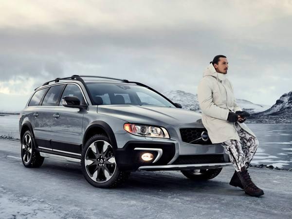 Volvo, Zlatan et Max, le mariage viril