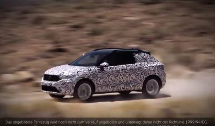 Volkswagen montre le T-Roc ... de présérie