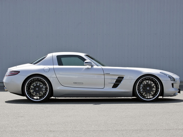 Mercedes SLS AMG par Hamann : seulement cosmétique