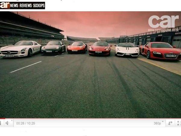 McLaren MP4-12C : finalement pas si rapide [vidéo]