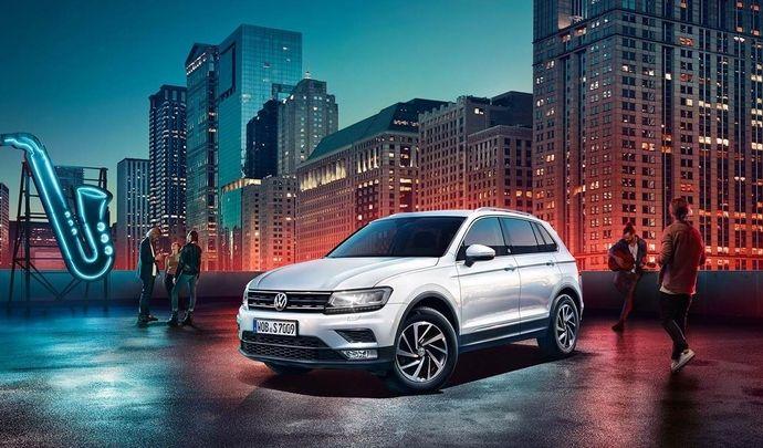 """Volkswagen lance une série spéciale Tiguan """"Sound"""""""