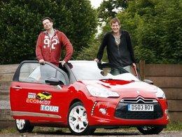 Challenge de sobriété : bientôt le Citroën DS3 Ecomedy Tour