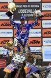 Mx2 à Uddevalla : Cairoli gagne le GP et revient au championnat