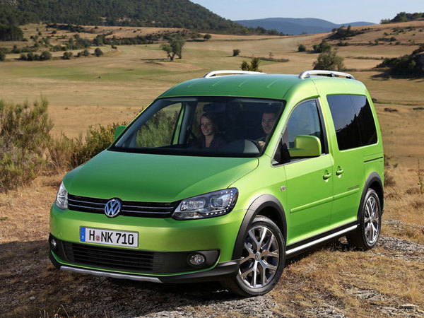 Nouveau Volkswagen Cross Caddy