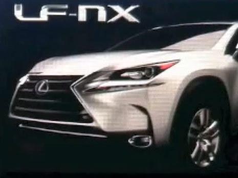 Futur Lexus NX de série, c'est lui