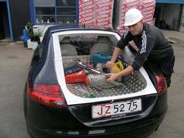 Pick-up Audi TT : pour éviter les taxes !
