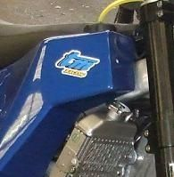 Dakar 2012 : Une 450 TM sur la piste