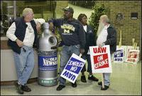 73.000 travailleurs en grève aux USA