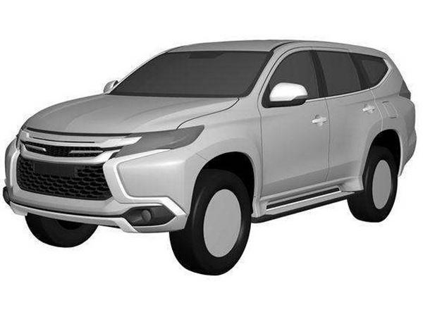 Scoop : le futur Mitsubishi Pajero Sport s'échappe sur la toile